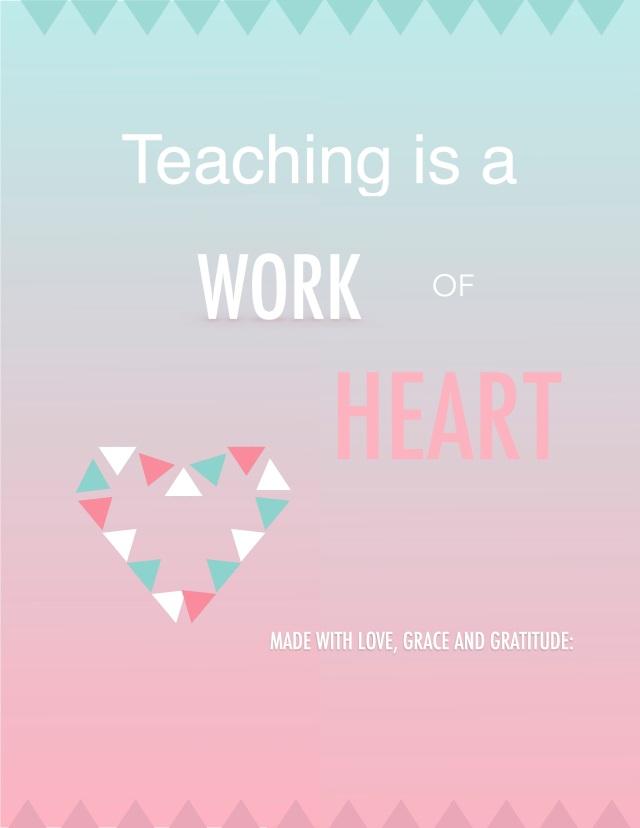 work of heart-template