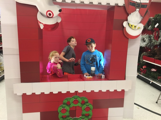 target lego photo booth